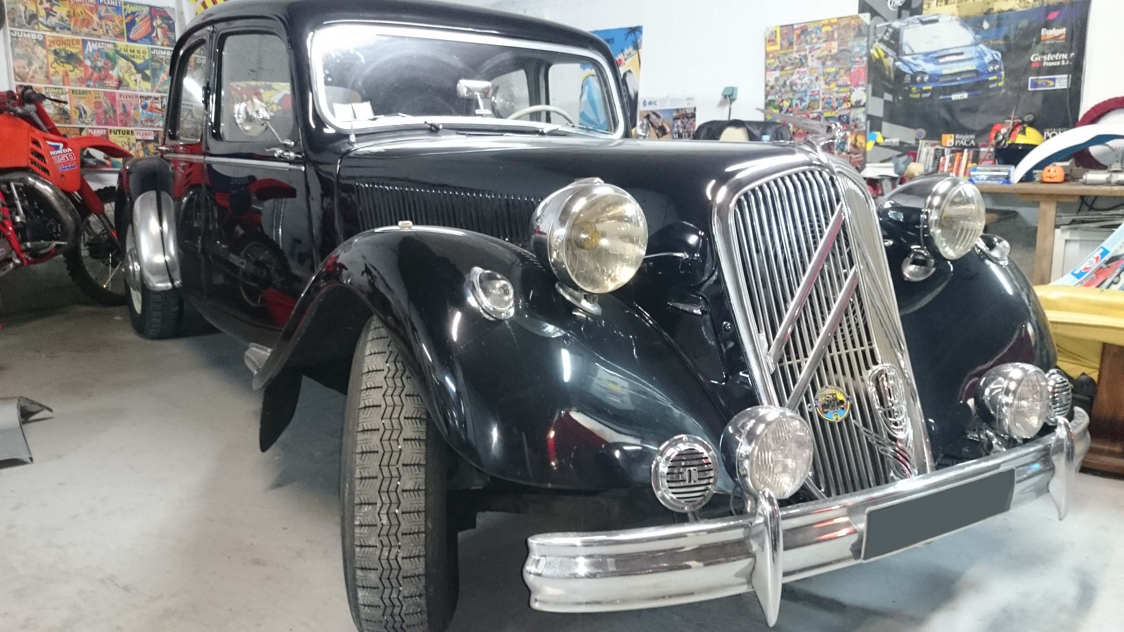 FranzaSport, Citroen Traction 15/6